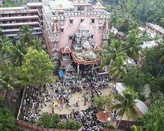 Amritapuri Ashram in Kerala, India