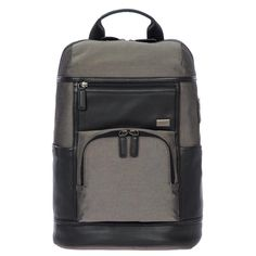 Buy the BRIC'S Monza Urban Laptop Backpack at eBags - Add chic style to any outfit with this leather laptop backpack from BRIC'S. The BRIC'S Monza Urban L Leather Laptop Backpack, Brics, Usb, Backpack Online, Designer Backpacks, Fashion Backpack, Tech, Organization, Pockets