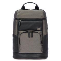 BRIC'S BR207703 URBAN BACKPACK. #brics #bags #leather #nylon #backpacks