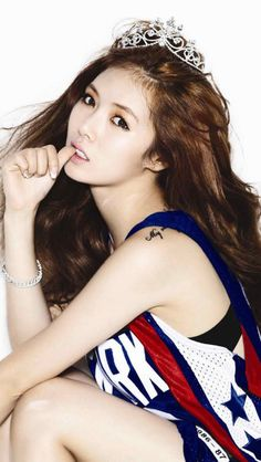 Hyuna #iPhone #5s #wallpaper
