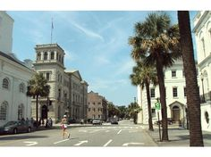 Four Corners of Law (Corner of Meeting and Broad Sts.) Charleston, SC, City Law, State Law, U.S. Law, and God's Law (Church)