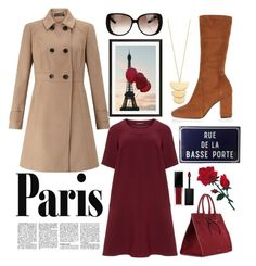 """""""amour."""" by adriastar ❤ liked on Polyvore featuring Gorjana, Manon Baptiste, Miss Selfridge, River Island, Pottery Barn, Gucci, Mansur Gavriel and Smashbox"""