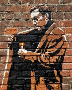 Missing brick leaves space for a candle – In Moscow, Russia Street Art Utopia, Street Art Graffiti, Gravure Illustration, Pop Art, Chalk Art, Illustrations, Urban Art, Cool Pictures, Brick