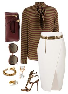 """""""Business Meeting"""" by fashionkill21 ❤ liked on Polyvore featuring Stella Jean, Witchery, Lanvin, Giuseppe Zanotti, Tom Ford, Allurez, Christian Dior and Alighieri"""