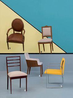 50 cadeiras arrasadoras para o décor