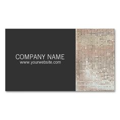 Simple rock band business cards singer business cards pinterest faux sparkly sequins entertainment business card colourmoves