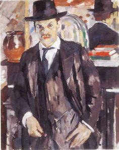 Wouters, Portret van Simon Lévy, 1913