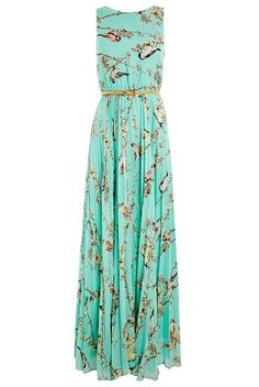 Louche Electra Bloom dress, I like this lots! Perfect for a sunny wedding guest outfit Image source Pretty Outfits, Pretty Dresses, Beautiful Outfits, Bon Look, Summer Outfits, Summer Dresses, Summer Maxi, Summer Beach, Spring Skirts
