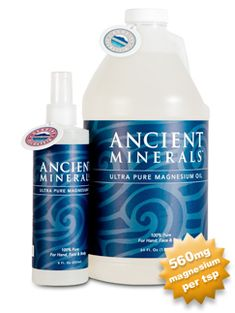 Magnesium oil natural traditional remedies