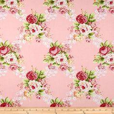 Hill Farm Large Floral Pink  Item Number: 0265057
