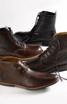 timberland boots Menswear Fall Classic: Leather chukka boot by Timberland Boot Company. boots for you