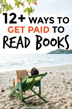 Get Paid to Read Books: 12 Ways to Make Money as a Bibliophile - I Like To Dabble - samira Ways To Earn Money, Make Money Fast, Make Money From Home, Make Money Online, Money Tips, Money Hacks, Work From Home Opportunities, Work From Home Jobs, Best Online Jobs