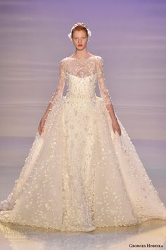 georges hobeika couture wedding dress fall 2014 2015