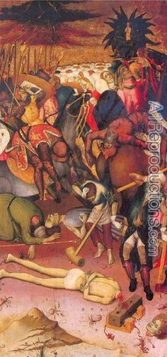 Bernardo Martorell (bekend 1427-1452) The Decapitation of St. George | Bernardo Martorell | c. 1432-34 | tempera on panel | 42 x 20 in - Het Louvre