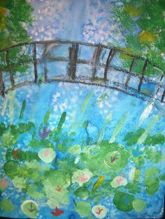Sorteggio da sogno CREATE: Monet ispirato opere d'arte di grado 2 -----------MONET-------------