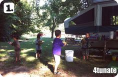 Surviving Camping with Little Ones - Food and Entertaining Ideas