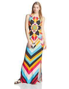 Mara Hoffman Women's Geometric Pattern Maxi Dress at Amazon Women's Clothing store: