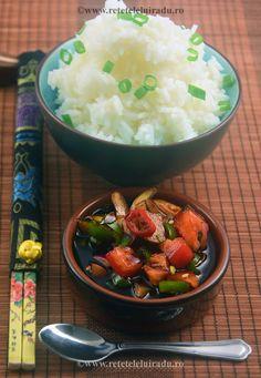 Sambal Kecap & Steamed Rice