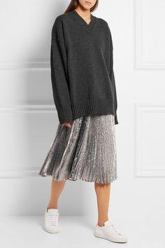 Jil Sander | Oversized wool and cashmere-blend sweater | NET-A-PORTER.COM