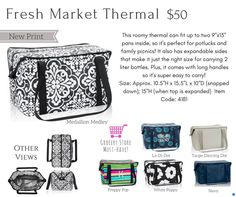 Shop for Thirty-One Thermals. All kinds of fun and cute thermal insulated bags to keep your items hot or cold: Melissa Fietsam, Ind. Senior Executive Director at Thirty-One Gifts www.buymybags.com  #ThirtyOne #ThirtyOneGifts #31bag #31bags #Thermals #PicnicThermal #FreshMarketThermal #AroundTheClockThermal #GoToThermal