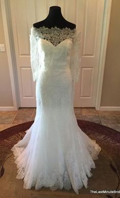 Pronovias Bellamy: buy this dress for a fraction of the salon price on PreOwnedWeddingDresses.com