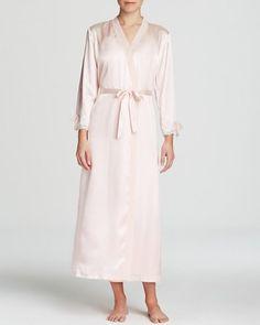70cccbfec2 OSCAR DE LA RENTA Pink Label Tying the Knot Robe Blushing Bride  75 NOT IN  CALI