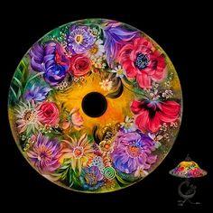 Авторская техника росписи стекла от Уллы Дарни.. Обсуждение на LiveInternet…