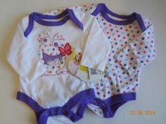 New Truly Scrumptious girls bodysuit purple monster newborn 3 months Heide Klum #TrulyScrumptiousbyHeidiKlum #Everyday