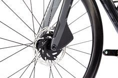 PARLEE Cycles | RZ7 LE Carbon Road Bike, Bottom Bracket, Brake Calipers, Custom Paint, Carbon Fiber