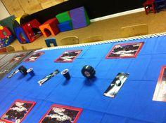 Monster Jam birthday party  :monster jam flip watches :monster jam  placement activity mats :monster jam tire cups