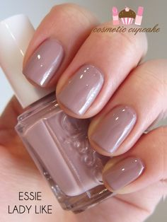 Lady Like. Love this shad.  Short, classy nails for late winter, early spring.