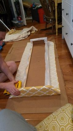 This is a very light weight cornice that is strong and easy to mount. The total cost of this . Window Cornice Diy, Box Valance, Cornice Box, Window Cornices, Valance Window Treatments, Cornice Boards, Diy Curtains, Window Coverings, Valance Ideas