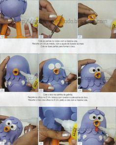 Blog que comparte gratuitamente moldes (patrones) para realizar cualquier tipo de manualidad. Lottie Dottie, Clay Classes, Diy And Crafts, Paper Crafts, Biscuit, Fondant Decorations, Porcelain Clay, Triplets, Fondant Cakes