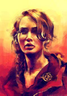Katniss amazing art