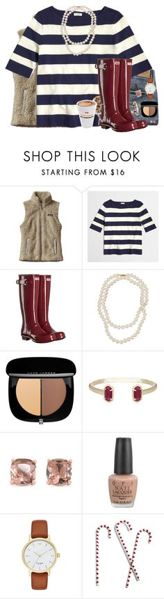 """What's on Your Christmas List? COMMENT 🛍"" by southernstylish ❤ liked on Polyvore featuring Patagonia, Abercrombie & Fitch, J.Crew, Hunter, Belpearl, Marc Jacobs, Kendra Scott, Carolee, OPI and Kate Spade"