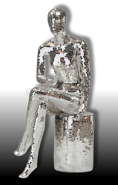 Roberto - Mosaic Mirror Sculpture OUT OF STOCK - Unusual Accessories - Home Decor