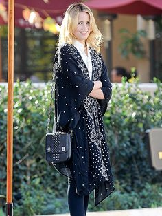 Star Tracks: Monday, February 24, 2014 | PRETTY WOMAN | Dianna Agron makes a stylish wardrobe selection for a Saturday outing in Beverly Hills.