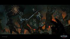 ArtStation - Witcher 3 Wild Hunt Recap, Grzegorz Przybyś