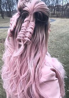 Pastel pink hair color has become one of the beauty symbols since last many years. You can see here it is still much popular among women and girls of various age groups. Beautiful pastel pink hair colors for 2018 is really awesome to get attractive and cute hair color look.