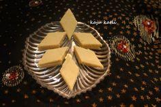 Kaju Katli or kaju katri  Recipe by Charus Cuisine on Plattershare