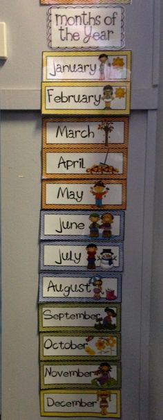 Months of the Year Flashcards $3 Available at http://www.teacherspayteachers.com/Product/Months-of-the-Year-Flashcards-with-Australian-Seasons-480738