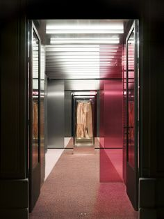 ACNE STUDIOS - 1 Quai Voltaire, Paris designed by Bozarthfornell Architects