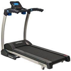 The space-friendly LifeSpan TR800 Folding Treadmill fits easily into your home and workout schedule  Interior hydraulic system makes folding and unfolding the treadmill safe and easy  21 programs include two heart rate programs