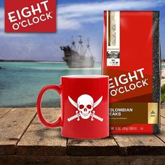 Brew that jolly java 'n raise yer mugs for Talk Like a Pirate Day!