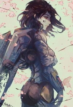 Overwatch art Overwatch, Blizzard, Pharah, Mercy, Overwatch art, длиннопост