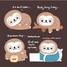 A very ambitious sloth Cute Baby Sloths, Cute Sloth, Cute Baby Animals, Baby Otters, Wild Animals, Baby Sloth Pictures, Cute Pictures, Cute Cartoon Drawings, Cute Animal Drawings