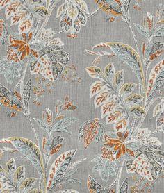 Portfolio Vinaya Tumeric Fabric - $33.35 | onlinefabricstore.net