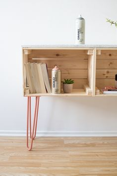 Wooden Box Sideboard  – Personal furniture that works