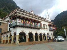 Estación de Teleférico y Funicular que lleva al cerro de Monserrate; está en la Carrera 2 Este No. 21-48 Paseo Bolivar