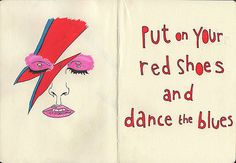 Just Dance Put On Your Red Shoes Lyrics